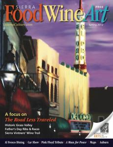 Spring issue of Sierra FoodWineArt magazine