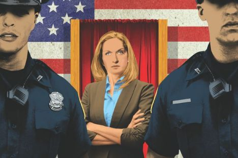 """The Ballot Cops: """"aging white (people) trained by the Patriots as poll watchers""""; could it happen here?"""