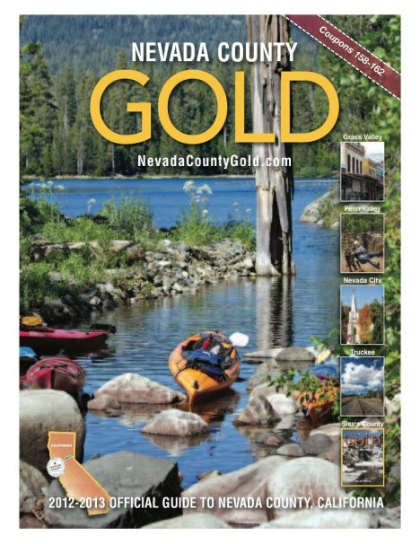 "We're brimming with ""official"" Nevada County Visitor Guides"