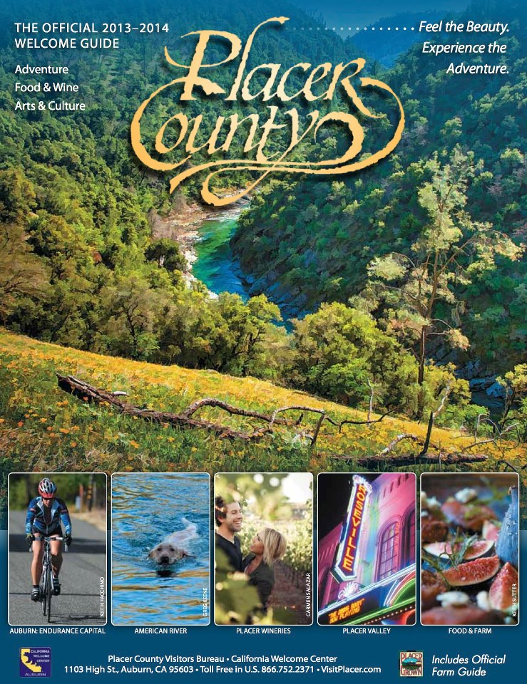 2013-14 official Placer County Welcome Guide is being circulated