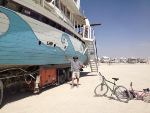 Burning Man correspondent this week