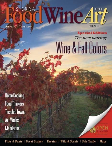 Fall issue of Sierra FoodWineArt magazine