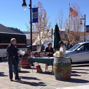 Truckee fall colors — and a lot of visitors