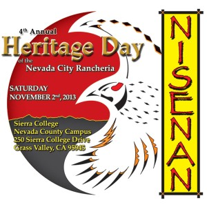 Fourth annual Nisenan Heritage Day is November 2