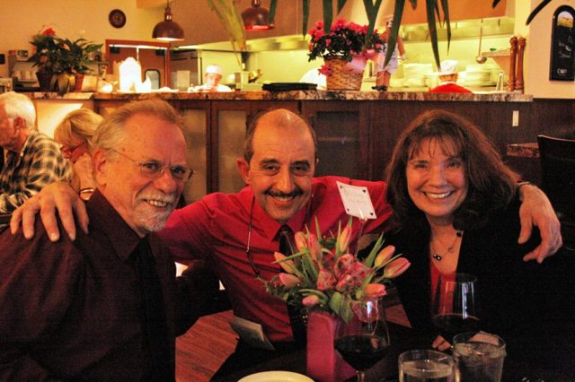 Celebrating Valentine's Day in downtown Grass Valley
