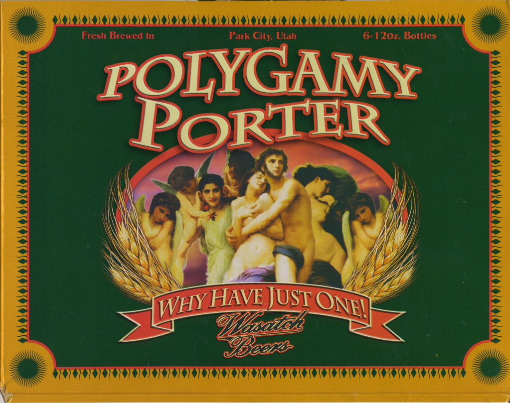 Craft beer booming all over including one called polygamy for Porter porter