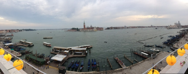 Venice: Terrazzo lights and Vivaldi and drones! Oh my!