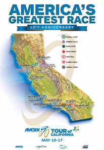 Nevada City, South Lake Tahoe, Sacramento are host cities for 2015 Amgen Tour of California