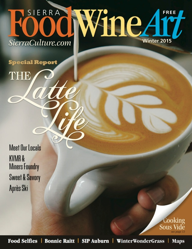 Winter issue of Sierra FoodWineArt magazine is now circulating