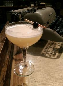 """""""The Wooden Nickel,"""" a new cocktail at the Local Edition"""