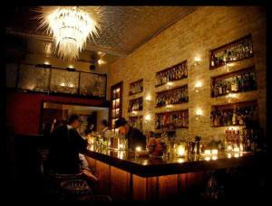 """Bourbon & Branch"" in San Francisco: an inspiration for proposed cocktail lounge in Nevada City."