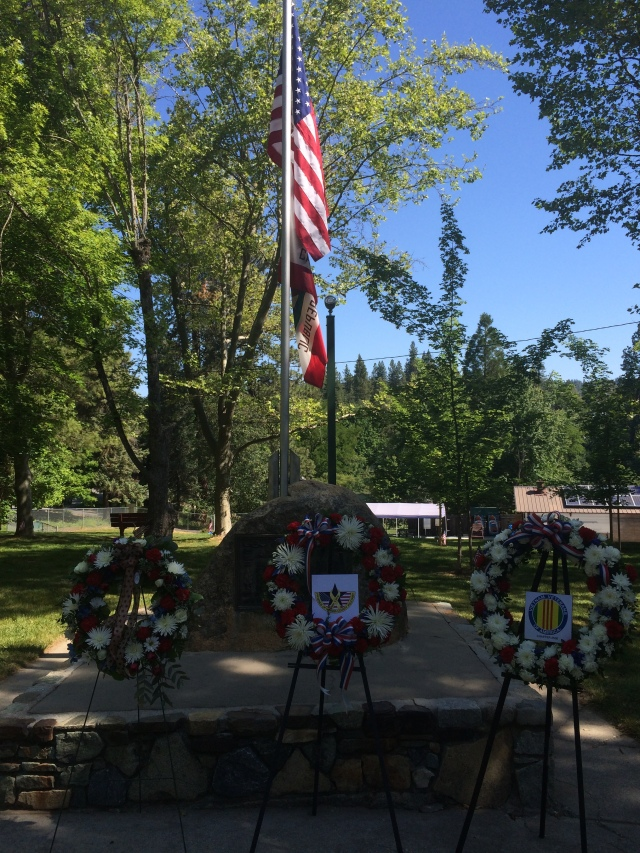 Memorial Day at Pioneer Park in Nevada City