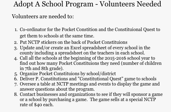 "Nevada County Tea Party wants to ""adopt a school"" but can't spell ""constitution"""