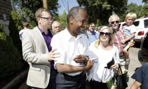 Why does the only black presidential candidate insist the US is post-racial?