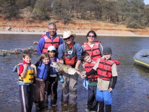 SYRCL offers raft tours to see wild salmon on the lower Yuba