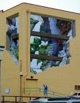 New mural in GV