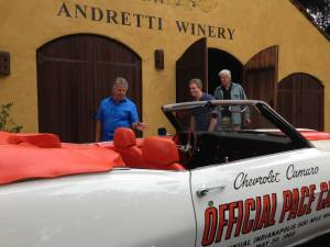 Team Andretti into California wine, not just race cars