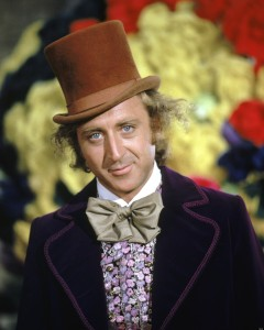 American actor Gene Wilder as Willy Wonka in 'Willy Wonka & The Chocolate Factory', directed by Mel Stuart, 1971. (Photo by Silver Screen Collection/Hulton Archive/Getty Images)