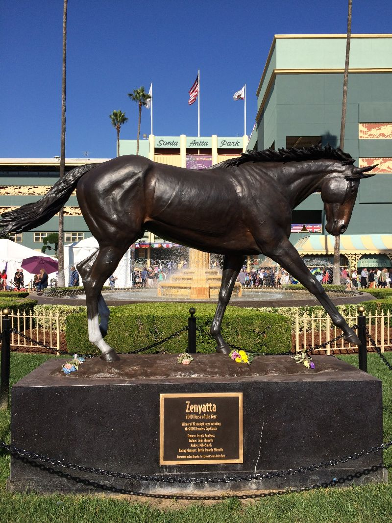 Our Trip To The Breeders Cup Record Crowd Sees Upset Of